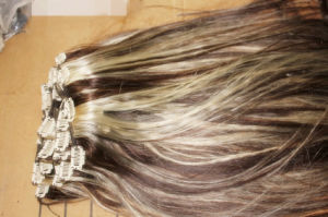 Clip-in Hair Extension (4 clips) (Mtl-Hair-00196)