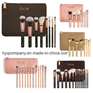 2017 Newest Hot Sale Professional Zoeva Rose Brush 8PCS/Set 3colors 3 Styles Blusher Toothbrush Makeup Brush Cosmetic Brush Set pictures & photos