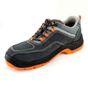 Sport Sytle Suede Leather PU Sole Breathable Safety Shoes Ce pictures & photos