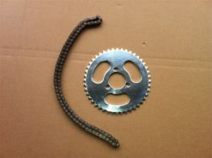 Electric Scooter Spare Parts Chain and Sprocket pictures & photos