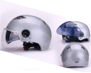 Double Visor Harley Helmets Motorbike Summer Open Face Helmets pictures & photos