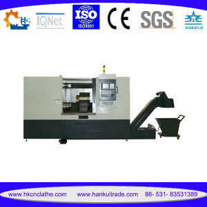 Ck63L CNC Turning Center with 30 Degree Machine Body Structure pictures & photos
