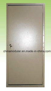 Metal Door with Disabled Sill (CHAM-TD08) pictures & photos