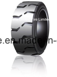 Press-on Solid Tire with Good Quality for Forklift Trucks pictures & photos