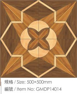Parquet Laminated Engineered Wood Flooring with E1 Standard pictures & photos
