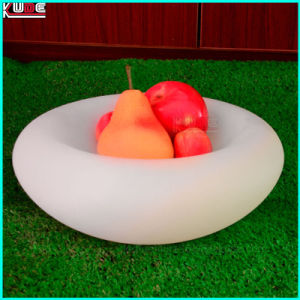 LED Lighting Illuminated Fruit Tray LED Fruit Plate Bowl Compote Dish pictures & photos