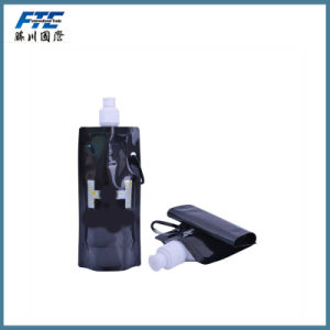 Disposable Plastic Drinking Empty Foldable Water Bottle pictures & photos