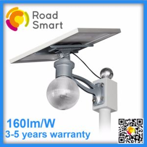 Integrated Solar Gutter Yard Light 4 LED with Adjustable Panel pictures & photos
