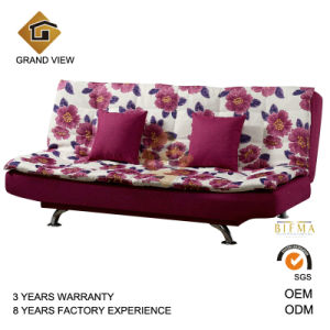 Modern Chinese Bedroom Furniture Fabric Sofa Bed (GV BS116)