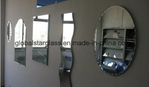 3-6mm Round Beveled Mirror, Silver Mirror, Aluminum Mirror pictures & photos