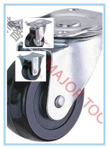 Heavy Duty Industrial Swivel and Fixed Caster PU or Rubber Wheel pictures & photos