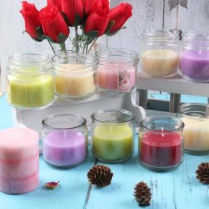Free Sample Candlle Jar Candle Cup Candlestick Wholesale Glass Candle Holder pictures & photos