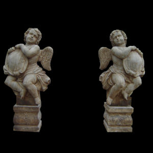 Wing Angel Carving Pair Stt050 pictures & photos