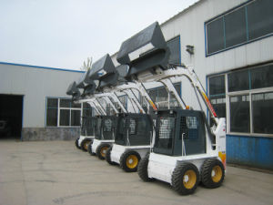 China Best CE Skid Steer Loader Similar Bobcat Skid Steer Loader pictures & photos