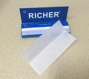 Richer Top Grade 20GSM 1-1/4 Size Vertical Cigarette Smoking Paper pictures & photos