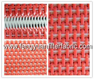 Conveyor Belt Plain Weave Flat Yarn Fabric pictures & photos