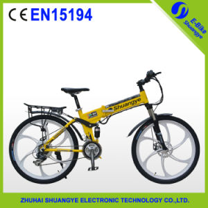 Lithium Battery Powered Electric Mountain Bicycle pictures & photos