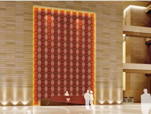 Manufacturer 3D Embossed Decorative Wall Panel for Office pictures & photos