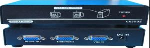 1X2 VGA Splitter/2 Port VGA Splitter 350MHz (CA3502) pictures & photos