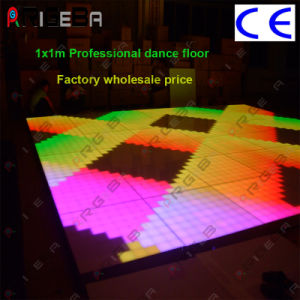 1*1m Professional Version LED Digital Dance Floor for Wedding Party Light pictures & photos