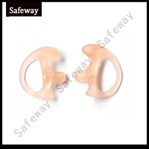 Silicone Earmold Earbud for Two Way Radio Tube Earpiece Accessories pictures & photos