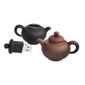 PVC Teapot Flash Memory Cartoon USB Flash Disk pictures & photos