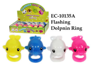 Funny Flashing Dolpnin Ring Toy pictures & photos