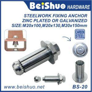High Quality Anchor Bolts Fastener M20X33X100mm pictures & photos