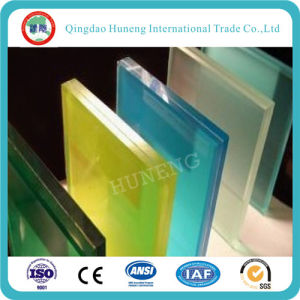 Grey/Bronze Laminated Glass for Building pictures & photos