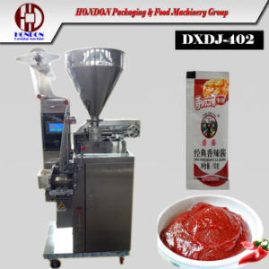 Ergonomic Tomato Ketchup Small Sauce Sachet Packing Machine (J-40II) pictures & photos