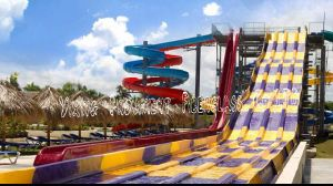 Multi-Lane Racing Fiberglass Water Slide for Sale pictures & photos
