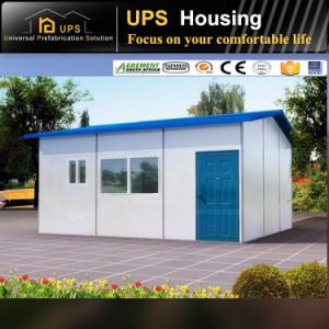 Permanent Residential Steel House Prefabricated Villa Wind Resistance with Windows and Doors pictures & photos