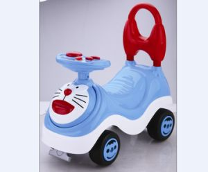 Children Swing Car Ride on Toy with Music pictures & photos