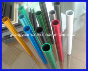 5A02 5052 5042 Powder Coat Paint Aluminum Alloy Extrusion Pipe pictures & photos