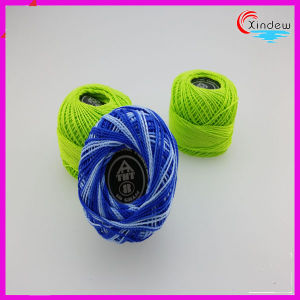 High Tenacity Colorful 100% Cotton Thread pictures & photos