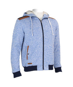 Wholesale Cheap Men Hooded Fleece Jacket pictures & photos