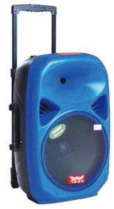 15 Inch Built-in Battery Trolley Speaker with Bluetooth F28 pictures & photos