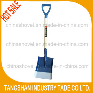 Ghana Types Wood Handle PVC Grip Steel Shovel pictures & photos