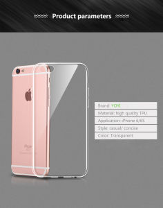 Ultra Thin High Quality and Clear Full Covered Soft TPU Mobile Phone Case pictures & photos