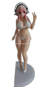 Plastic Sexy Cartoon Figure Toy for Decoration / Japanese Cartoon Toy (25 CM) pictures & photos