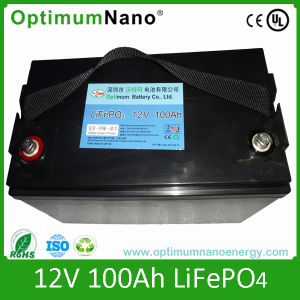 12V100ah LiFePO4 Batteries for Low Speed Vehicles UPS pictures & photos
