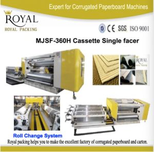 Cassette Single Facer (Fast change roll) High Speed Good Quality pictures & photos