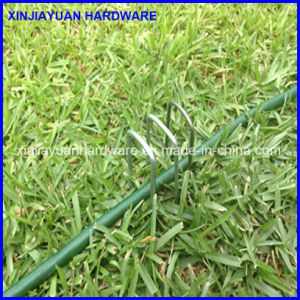 U Type Black Landscaping Turf Peg for Artifical Grass pictures & photos