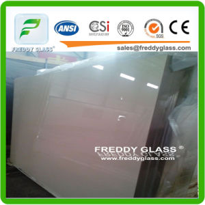 4mmultra Clear Ivory Paint Glass/Painted Glass/Coated Glass/Lacquered Glass/Art Glass/Decorative Glass pictures & photos