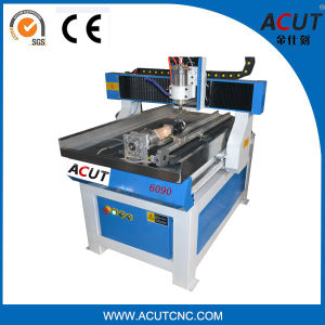 Wood Machine 6090 1500W Mini 4 Axis CNC Router Machine pictures & photos