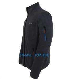 Men Cationic Dyed Polar Fleece Windproof Leisure Jacket pictures & photos