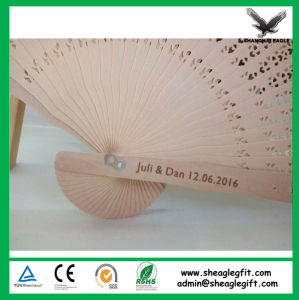 New Style Japanese Handmade Bamboo Folded Fan pictures & photos