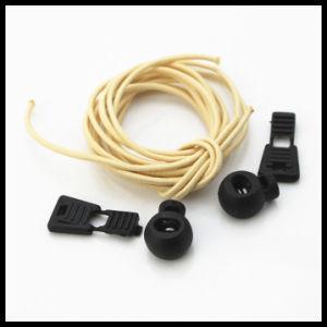 Promotion Lock Lace Lock Elastic Shoelace pictures & photos