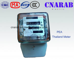 Pea Thailand Single Phase Mechanical Meter with Glass Cover Dd862 pictures & photos