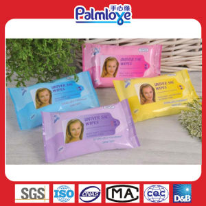 Facial Makeup Remover Wipes (WW-100) pictures & photos